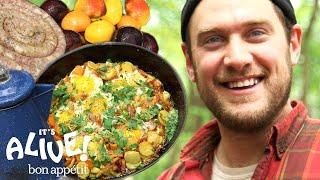 Brad Makes Campfire Breakfast | Its Alive | Bon Appétit