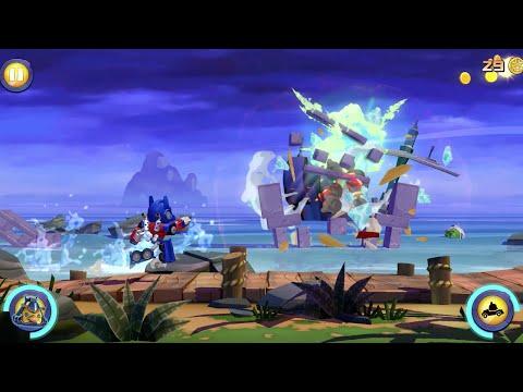 Видео Angry Birds Transformers