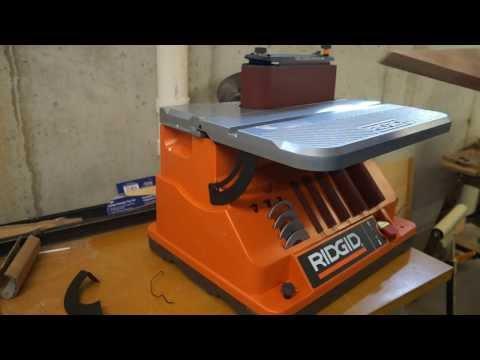 Review – RIDGID Oscillating Edge/Belt Spindle Sander