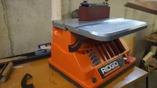 Review  RIDGID Oscillating Edge/Belt Spindle Sander