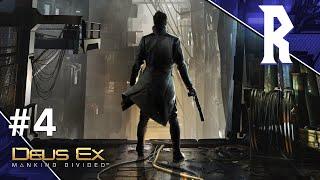 Deus Ex: Mankind Divided #4 [Stream VOD]