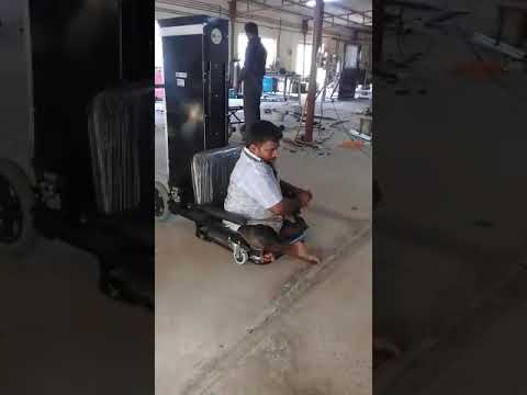 Powered Ground Mobility Seat Up Down Wheelchair With Manual Pushing