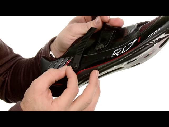 Видео Велотуфли Shimano SH-R171 W бело-черные