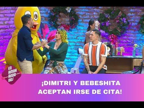 ¡Dimitri le pide cita a La Bebeshita! | Programa del 05 de diciembre de 2019 PARTE 2 | Enamorándonos