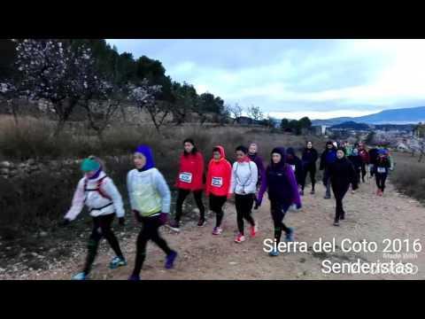 Carrera de Montaña Sierra del Coto 2016 (Senderistas)