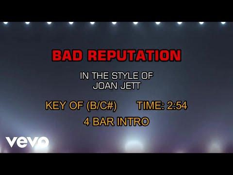 Joan Jett - Bad Reputation (Karaoke)