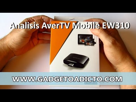 Analisis sintonizador TDT AverTV Mobile para Android
