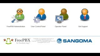 FreePBX базовая настройка и установка всех модулей