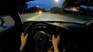 [WR Magazine] 2021 McLaren 720S Coupe - POV Night Drive (Binaural Audio)
