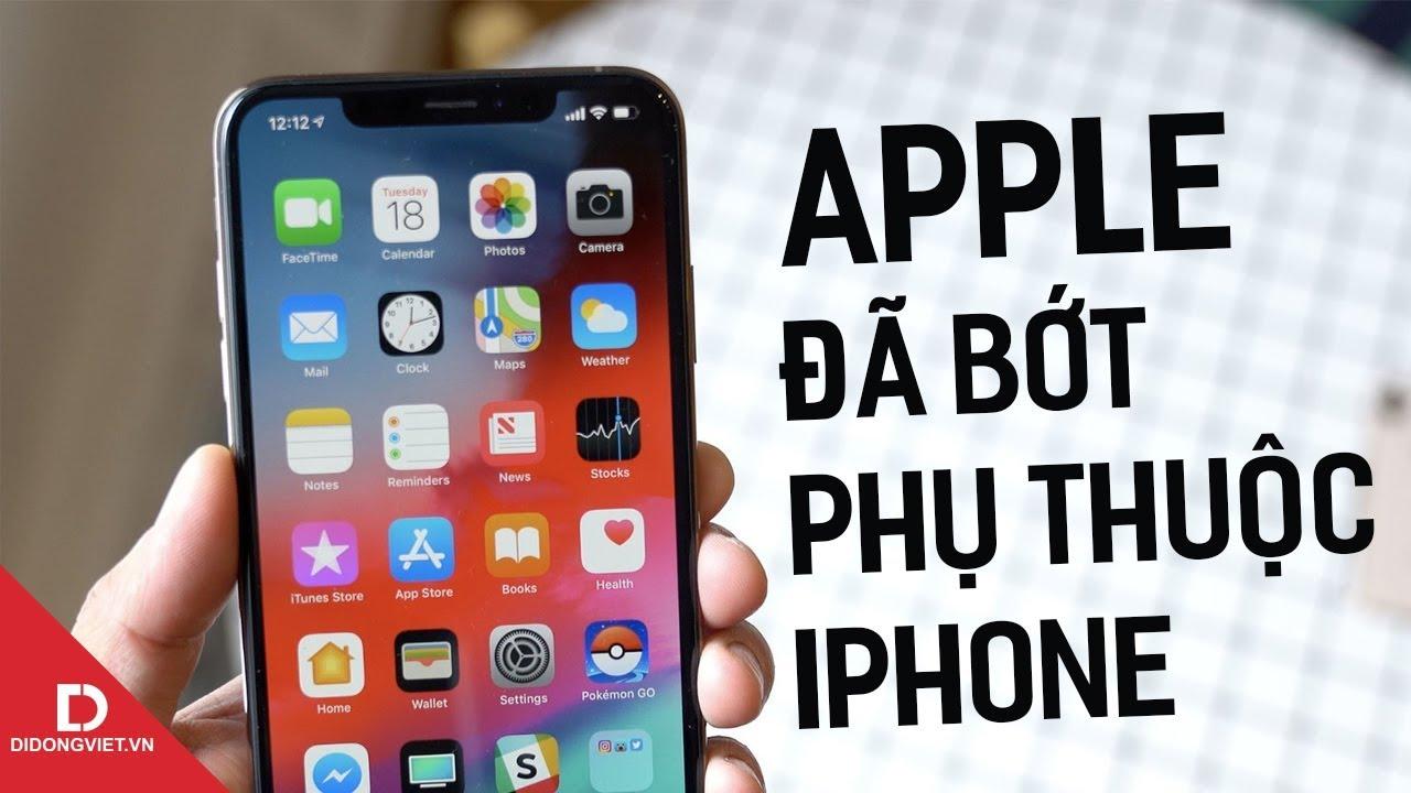 Doanh số iPhone giảm nhưng Apple vẫn thu về hàng tỉ USD nhờ đâu?
