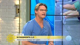 """Därför hatar doktor Mikael plankan: """"Djävulens påfund!"""" - Nyhetsmorgon (TV4)"""