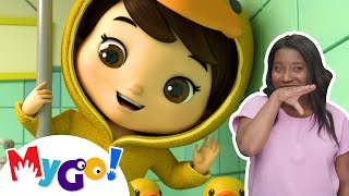 5 Little Ducks! | Sign Language For Kids | Baby Songs | Little Baby Bum | ASL