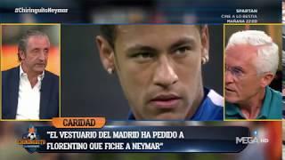 "PACO Gª CARIDAD: ""Jugadores del REAL MADRID le han PEDIDO a Florentino que FICHE a NEYMAR"""