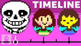 The Complete Undertale Timeline - Pacifist | The Leaderboard