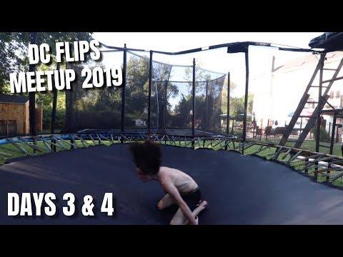 INSANE QUAD FLIPS AT THE DC FLIPS MEETUP (Days 3 & 4)