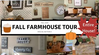 FALL 2019 FARMHOUSE TOUR - Entire house - MUST SEE!!