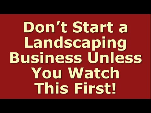 , title : 'How to Start a Landscaping Business | Including Free Landscaping Business Plan Template