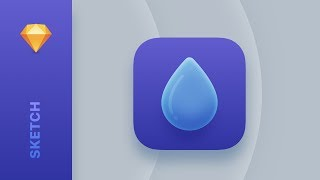 How To Design A Modern App Icon In Sketch App | Tutorial