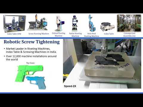 Robotic Screwing Machine