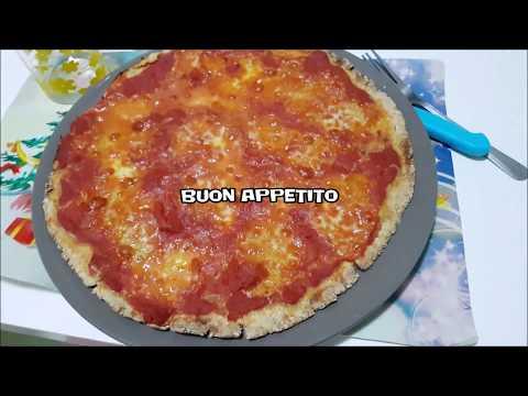 PIZZA CON FARINA D'AVENA ideale per chi segue una dieta di corretta alimentazione