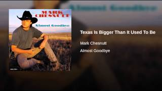 Texas Is Bigger Than It Used To Be
