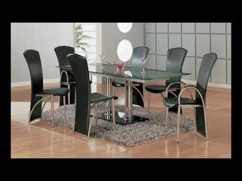 Glass Dining Table Design 2019 - Glass Dining Table Set 2019