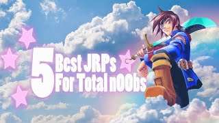 Top 5 Best JRPGs for Total n00bs! - RPG suggestions for novices | Review feat. Chrono Trigger