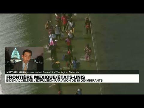 L'administration Biden promet d'accélérer l'expulsion de 15 000 migrants réunis sous un pont