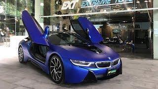 BMW i8 estrenando full wrap integral de Extreme Toys Santa Fé