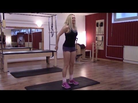 Die weiblichen Rückenschmerz und in der Lende