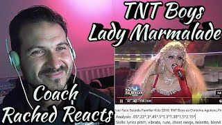 Vocal Coach Reaction + Analysis - TNT Boys - Lady Marmalade