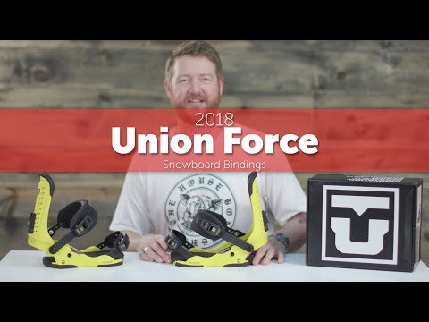 2018 Union Force Snowboard Bindings – Review