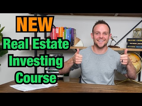 Check Out My NEW Real Estate Investing Course! - YouTube