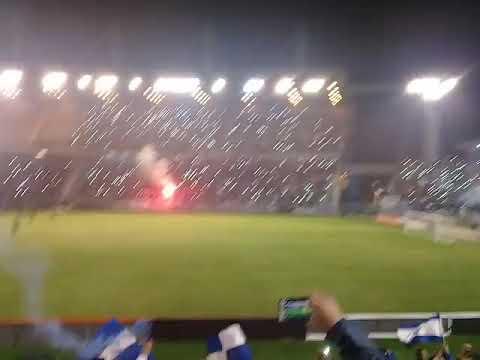 """ALVARADO VS SAN JORGE. Recibimiento gigante!!"" Barra: La Brava • Club: Alvarado • País: Argentina"