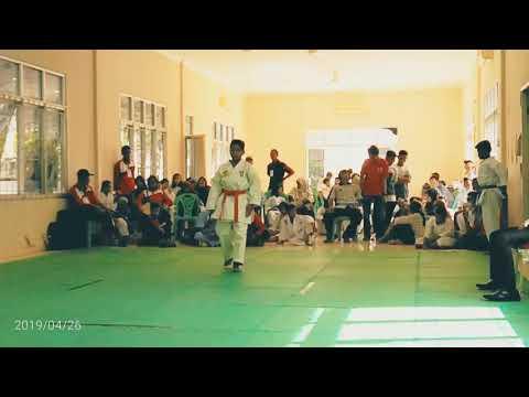 Final kata putra O2SN tingkat SMP kabupaten Oku timur Najam MPA (aka) vs Deri belitang (ao)