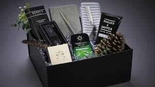 Groomsmen Gift Box, Complete Groomsman Gift Set, Luxury Gift Box, Beard Kit Gift