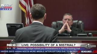 FNN: Defense Asks for Mistrial After Prosecution Gives Incorrect Info to Jury in NAU Shooting Trial