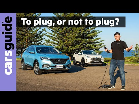Toyota RAV4 Hybrid vs MG HS PHEV comparison review: Plug-in or plug-free? Which SUV is best?