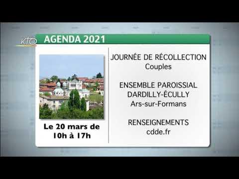 Agenda du 1er mars 2021