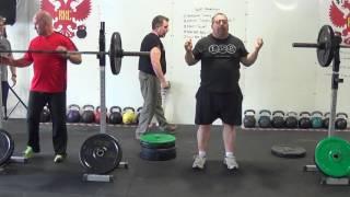 High Bar Back Squat Training – Gallagher and Karwoski