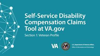 Getting Started: Section 1 of the Digital 526 Disability Compensation Tool at VA.gov