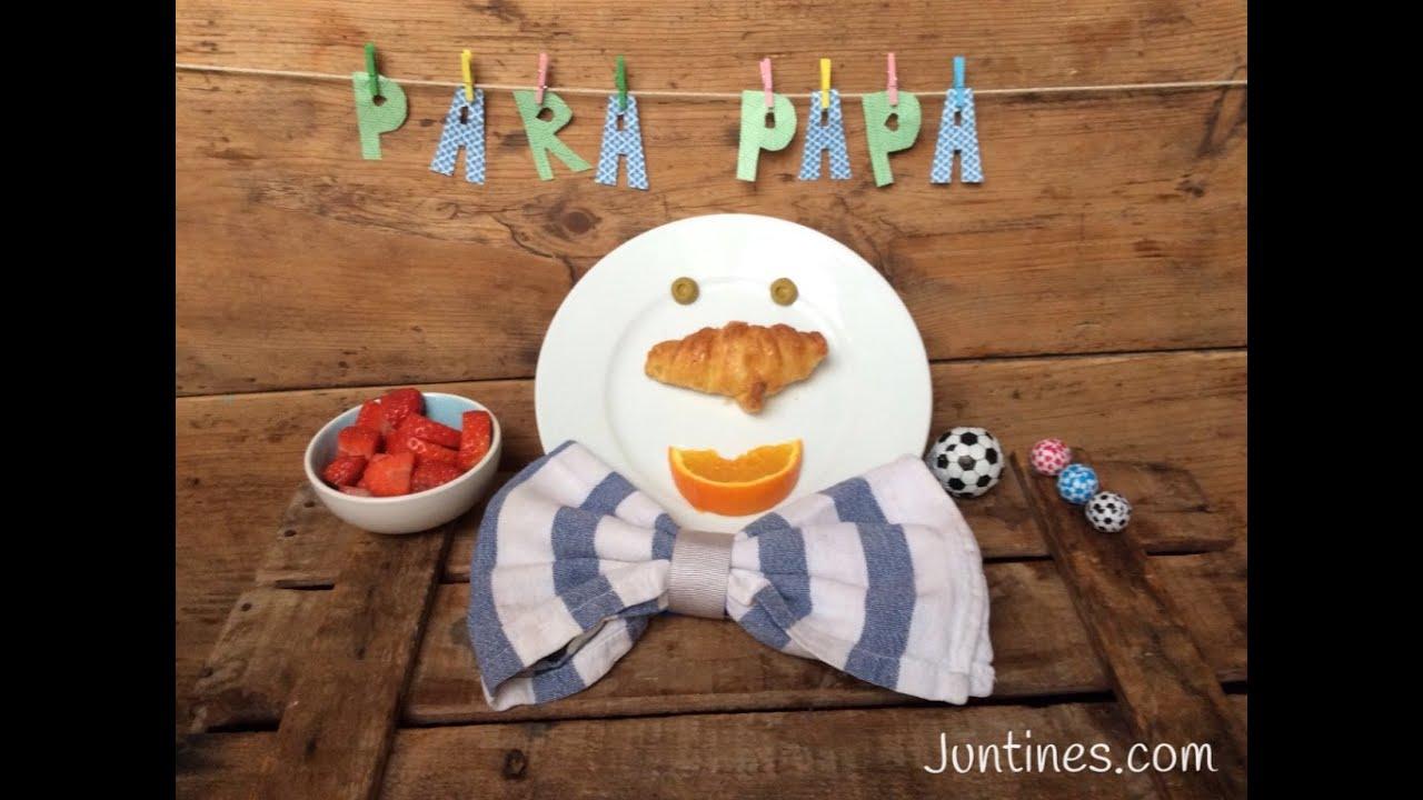 DESAYUNO para el Día del Padre |Ideas para el DÍA DEL PADRE