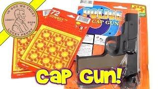 Police .45 Toy Cap Gun - Shoots 8 Ring Caps - LPS-Dave Repair Shop!