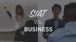 SFU Student Life - SIAT Vs Business