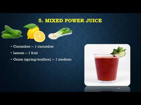 Video Juice Recipes For High Blood Pressure