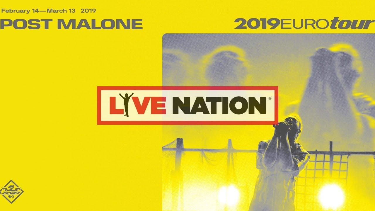 Post Malone Tickets Post Malone Tourdaten Konzerte 2019