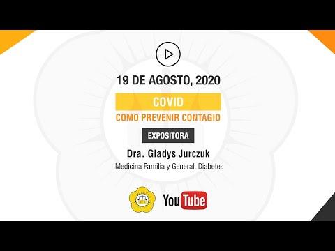 COVID, COMO PREVENIR CONTAGIO - 19 de Agosto 2020