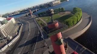 FPV dron   The Arrow Of Vasilievsky Island   FPV дрон   Стрелка Васильевского острова