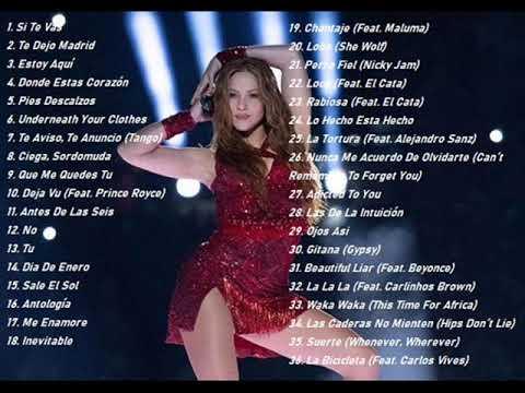 Los mas grandes éxitos de Shakira
