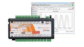 Zen Datalogger 16 Channel Datalogger with SD Card - Define Instruments